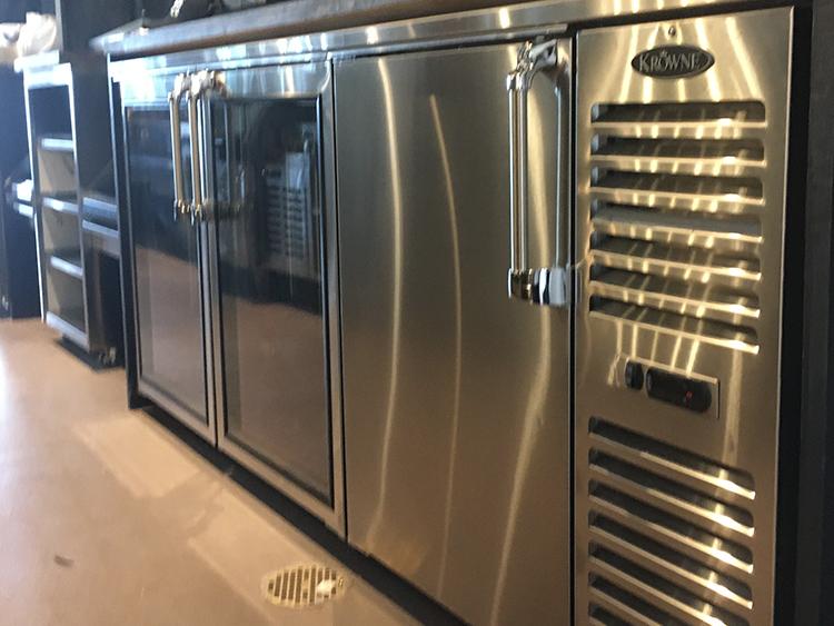 krowne bar refrigeration