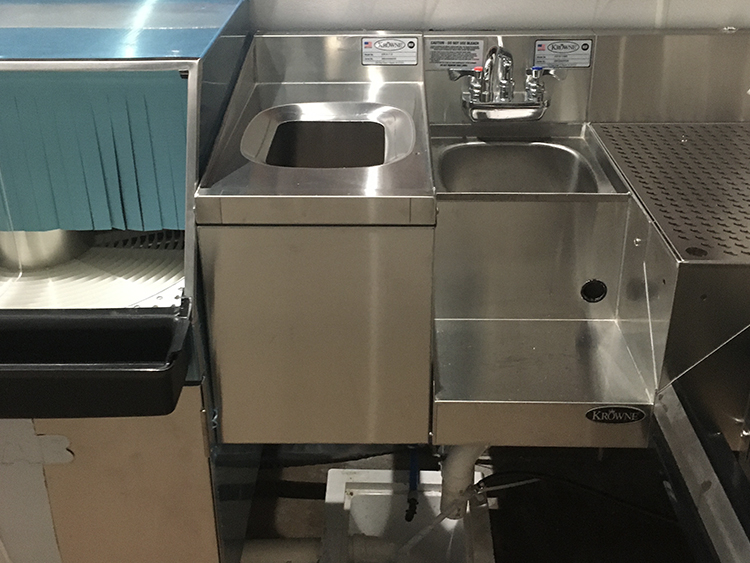 krowne bar sink