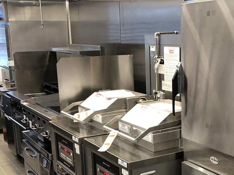 restaurant grill presses